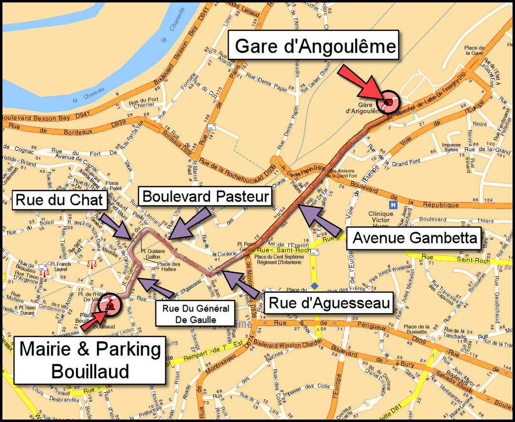 plan de angouleme - Image